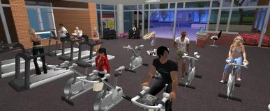 Second Life – Virtual Fitness Centres: What's it all about?